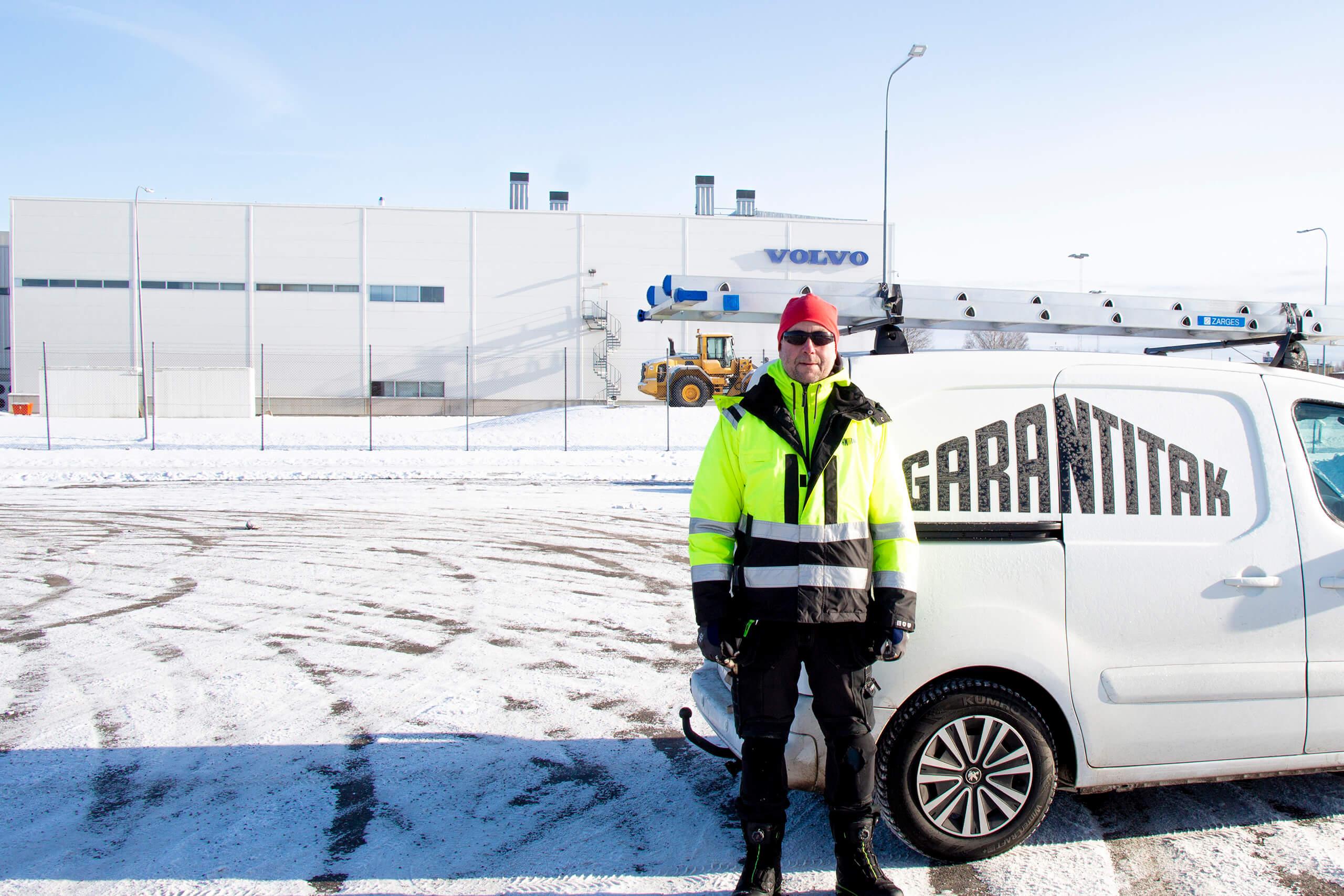 Ökad taksäkerhet till Volvo i Hallsberg